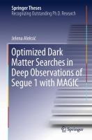 Optimized Dark Matter Searches in Deep Observations of Segue 1 with MAGIC [electronic resource]