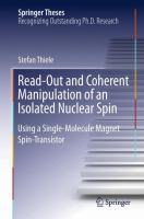 Read-Out and Coherent Manipulation of an Isolated Nuclear Spin [electronic resource] : Using a Single-Molecule Magnet Spin-Transistor