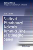 Studies of Photoinduced Molecular Dynamics Using a Fast Imaging Sensor [electronic resource]