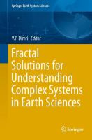 Fractal Solutions for Understanding Complex Systems in Earth Sciences [electronic resource]