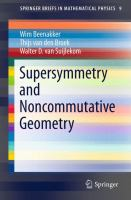 Supersymmetry and Noncommutative Geometry [electronic resource]