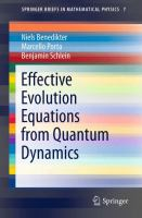 Effective Evolution Equations from Quantum Dynamics [electronic resource]