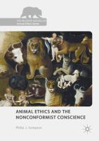 Animal ethics and the nonconformist conscience /
