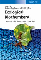 Ecological biochemistry [electronic resource] : environmental and interspecies interactions
