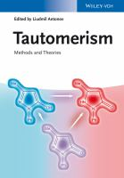 Tautomerism [electronic resource] : methods and theories