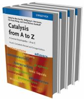Catalysis from A to Z [electronic resource]: A Concise Encyclopedia