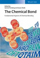 The chemical bond [electronic resource] : fundamental aspects of chemical bonding
