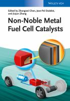 Non-noble metal fuel cell catalysts [electronic resource]