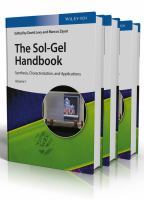 The Sol-Gel Handbook [electronic resource]: Synthesis, Characterizationand Applications