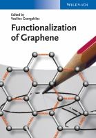 Functionalization of graphene [electronic resource]