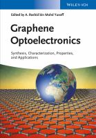 Graphene optoelectronics [electronic resource] : synthesis, characterization, properties, and applications