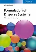 Formulation of disperse systems [electronic resource] : science and technology