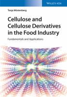 Cellulose and cellulose derivatives in the food industry [electronic resource] : fundamentals and applications