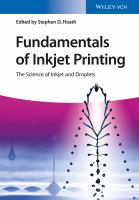 Fundamentals of Inkjet Printing [electronic resource]: The Science of Inkjet and Droplets