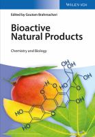 Bioactive natural products [electronic resource] : chemistry and biology
