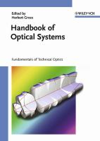 Handbook of optical systems [electronic resource]