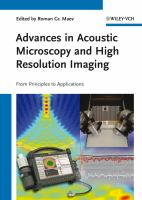 Acoustic Microscopy and Ultrasonic Imaging [electronic resource]: From Principles to Applications