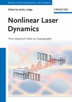 Nonlinear laser dynamics [electronic resource] : from quantum dots to cryptography