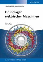 Grundlagen elektrischer maschinen [electronic resource]