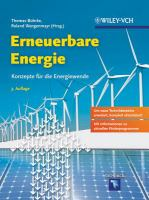 Erneuerbare Energie [electronic resource] : Konzepte für die Energiewende