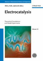 Electrocatalysis [electronic resource]
