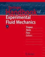 Springer handbook of experimental fluid mechanics [electronic resource]
