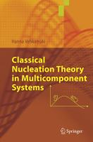 Classical nucleation theory in multicomponent systems [electronic resource]