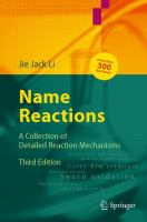 Name reactions [electronic resource] : a collection of detailed reaction mechanisms