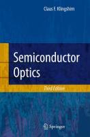 Semiconductor optics [electronic resource]
