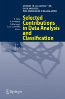 Selected contributions in data analysis and classification [electronic resource]
