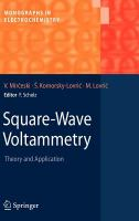 Square-wave voltammetry [electronic resource] : theory and application