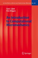 An introduction to computational micromechanics [electronic resource]