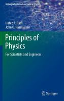 Principles of Physics [electronic resource]: For Scientists and Engineers