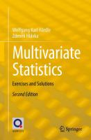 Multivariate Statistics [electronic resource] : Exercises and Solutions