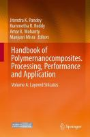 Handbook of Polymernanocomposites. Processing, Performance and Application [electronic resource]: Volume a: Layered Silicates