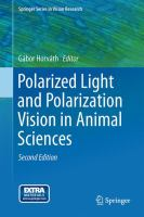 Polarized Light and Polarization Vision in Animal Sciences [electronic resource]