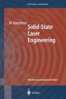 Solid-State Laser Engineering [electronic resource]