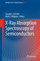 X-Ray Absorption Spectroscopy of Semiconductors [electronic resource]