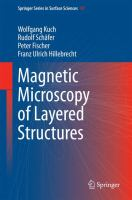 Magnetic Microscopy of Layered Structures [electronic resource]