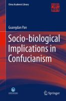 Socio-biological Implications of Confucianism [electronic resource]