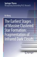 The Earliest Stages of Massive Clustered Star Formation: Fragmentation of Infrared Dark Clouds [electronic resource]
