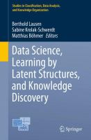 Data Science, Learning by Latent Structures, and Knowledge Discovery [electronic resource]
