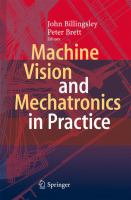Machine Vision and Mechatronics in Practice [electronic resource]