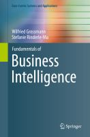 Fundamentals of Business Intelligence [electronic resource]