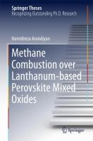 Methane Combustion over Lanthanum-based Perovskite Mixed Oxides [electronic resource]