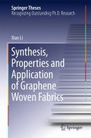 Synthesis, properties and application of graphene woven fabrics [electronic resource]