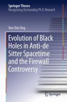 Evolution of Black Holes in Anti-de Sitter Spacetime and the Firewall Controversy [electronic resource]