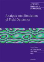 Analysis and simulation of fluid dynamics [electronic resource]