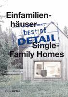 Einfamilienhäuser = Single-family homes