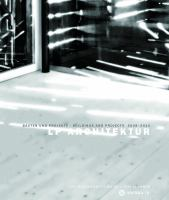 LP Architektur : Bauten und Projekte 2008-2014 = Buildings and projects 2008-2014
